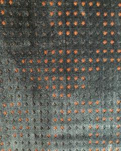 tissu-casal-velours-bleu-orange-claire-de-redon-tapissier-decorateur-montauban
