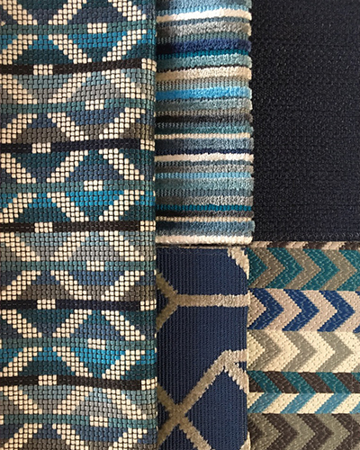 tissu-romo-habanera-bleu-different-motifs-claire-de-redon-tapissier-decorateur-montauban